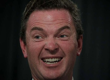 Christopher Pyne satire