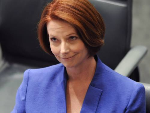 Julia Gillard satire