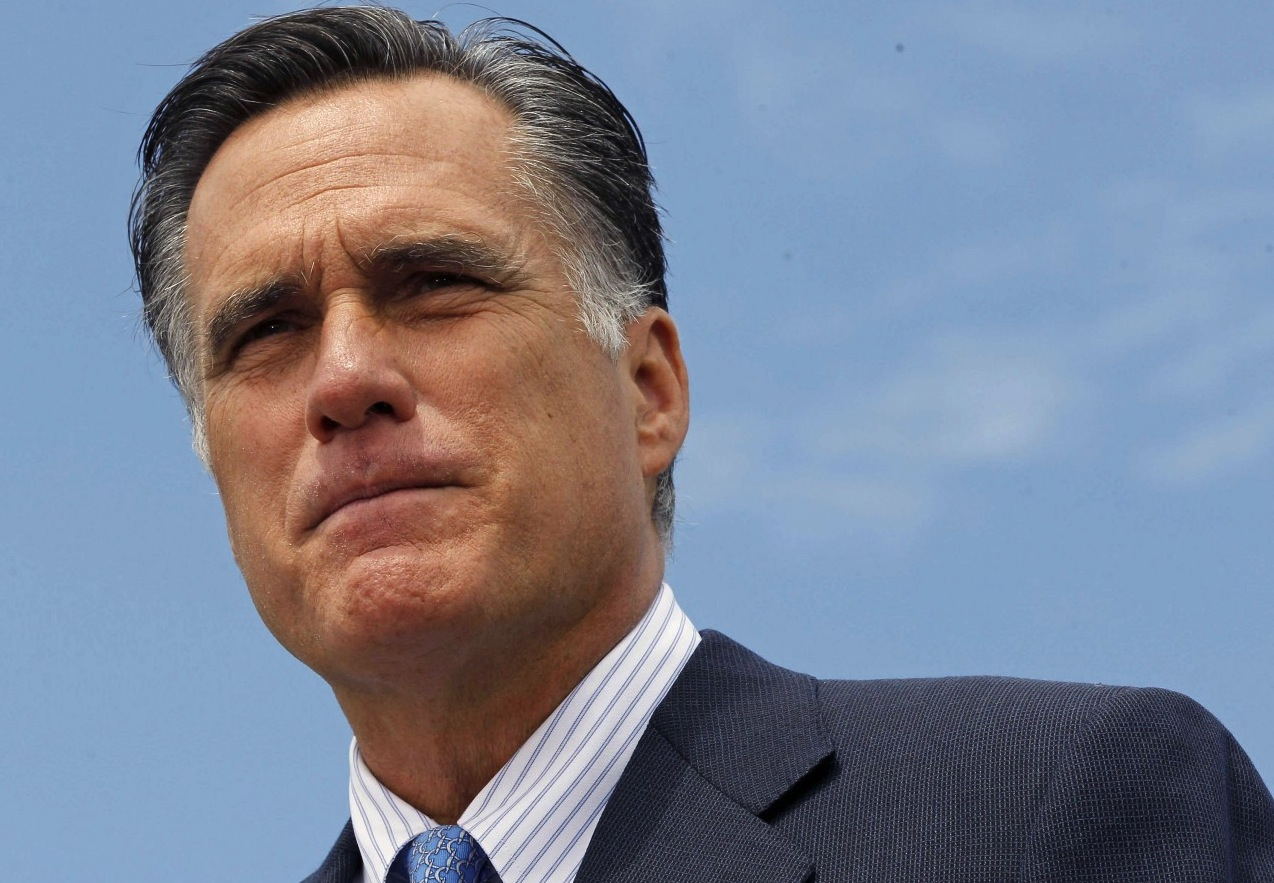 Mitt Romney satire