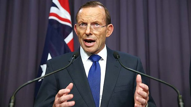 tony abbott to scrap income tax
