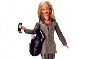 corporate barbie doll