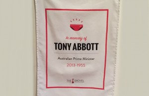 Tony Abbott Memorial Tea Towel