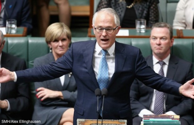 malcolm turnbull mansplaining
