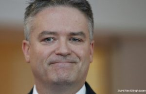mathias Cormann the shovel