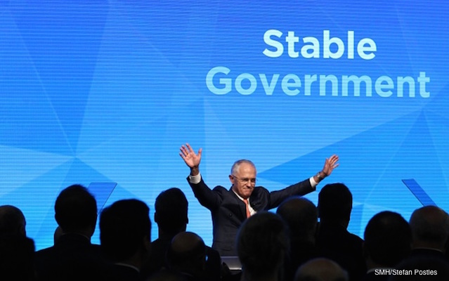 Malcolm Turnbull stable government