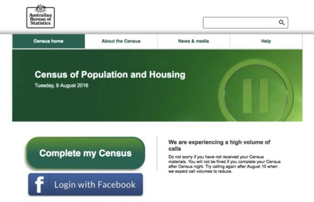 census facebook