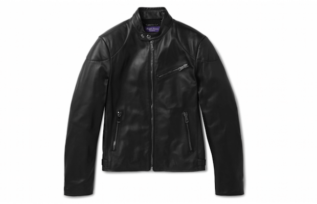 turnbull leather jacket