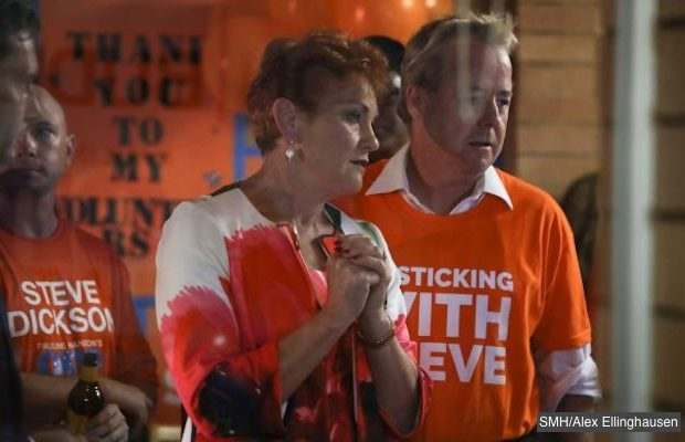 pauline hanson queensland election