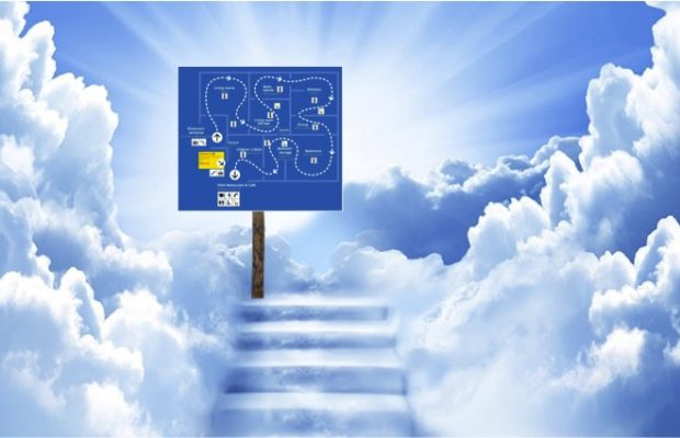 ikea founder forced to walk through entire heaven before getting to