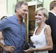 julie bishop and partner
