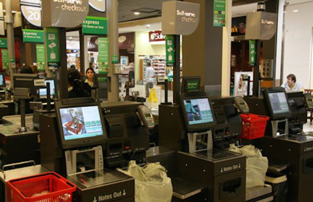 woolworths self checkout