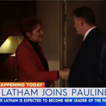 Hanson Rushed To Hospital After Shaking Hands With Mark Latham