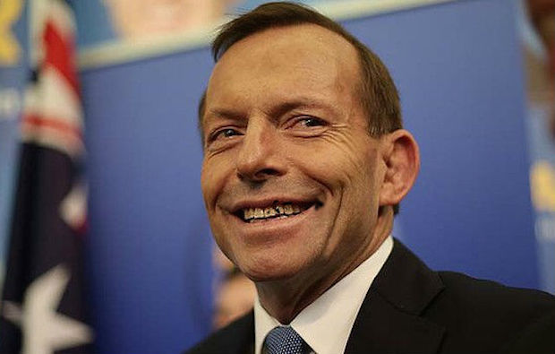 Tony Abbott coal