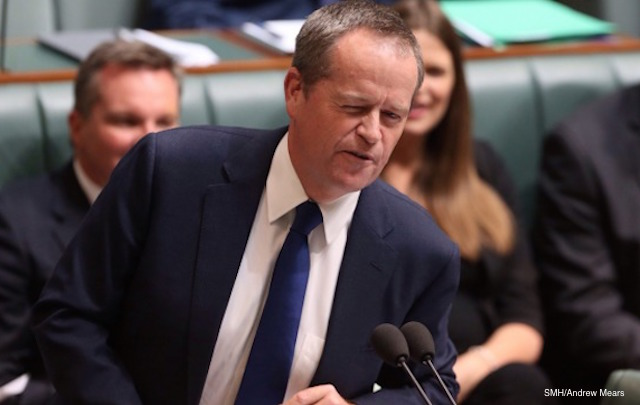 bill shorten dream