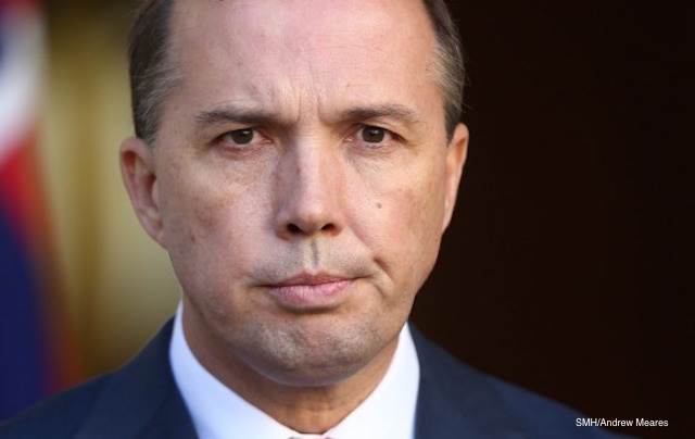 peter dutton people smuggler