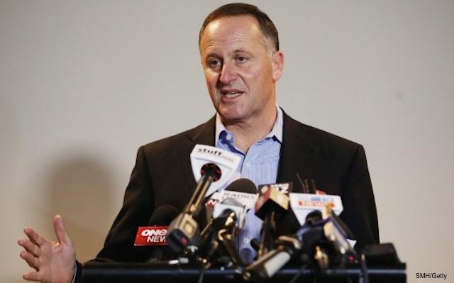 john key detained in Australia