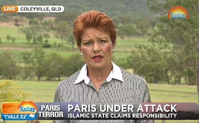 pauline hanson terrorism