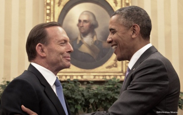 tony abbott obama