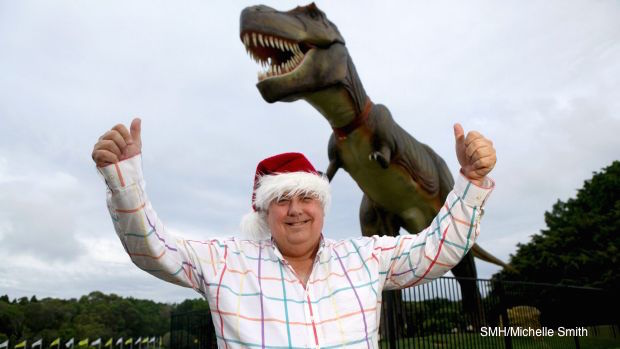 clive palmer dinosaurs