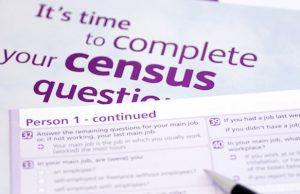 Census form Australia