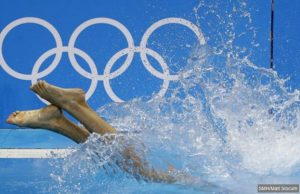 olympic swimmer no back story