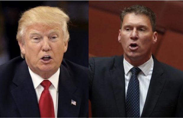 Donald Trump and Cory Bernardi