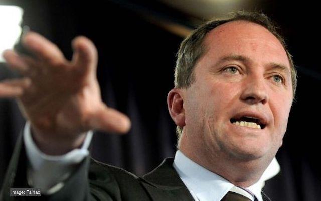 Barnaby Joyce citizenship