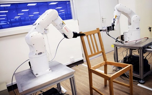 Robots That Built IKEA Chair Now Divorced