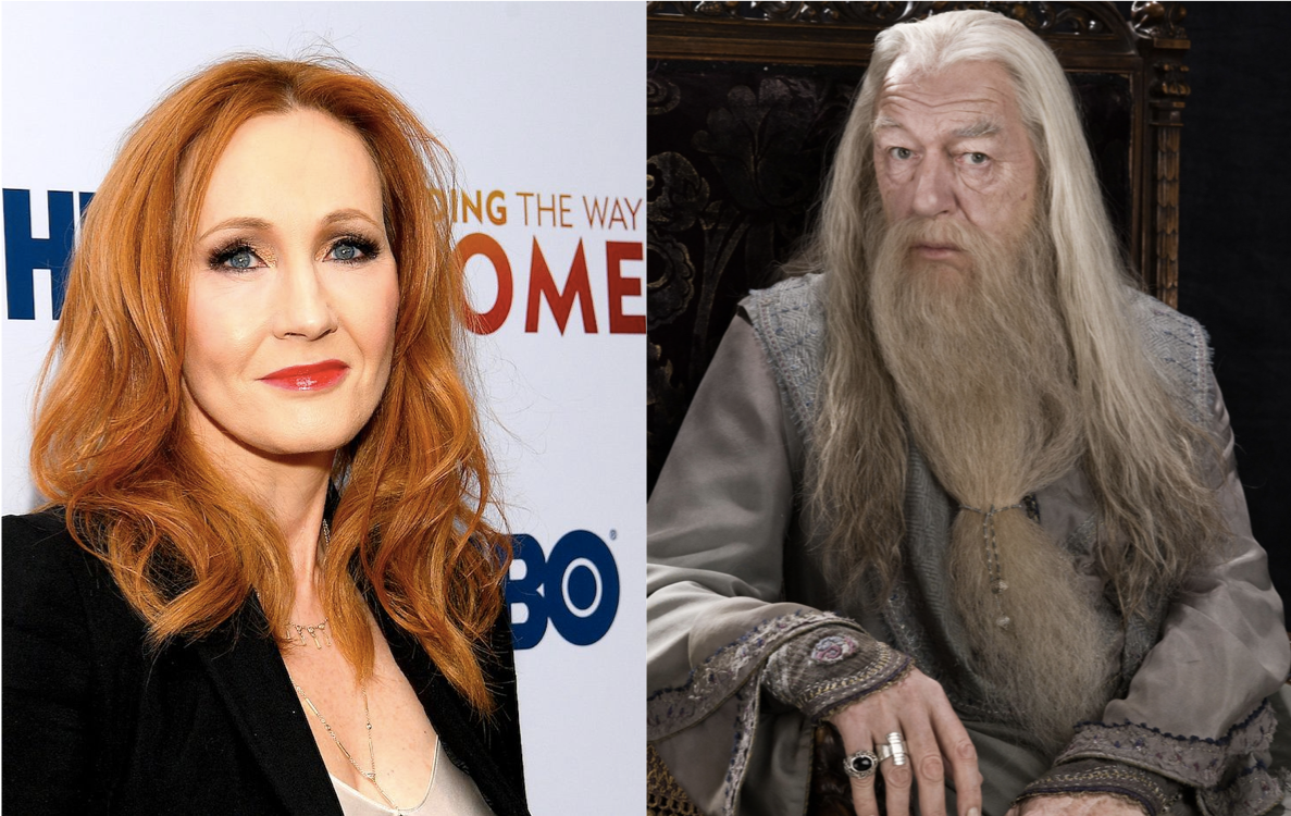 """""""DUMBLEDORE WAS ACTUALLY A TRANSGENDER LESBIAN!"""" JK Rowling tweets in frantic attempt to win back fans"""
