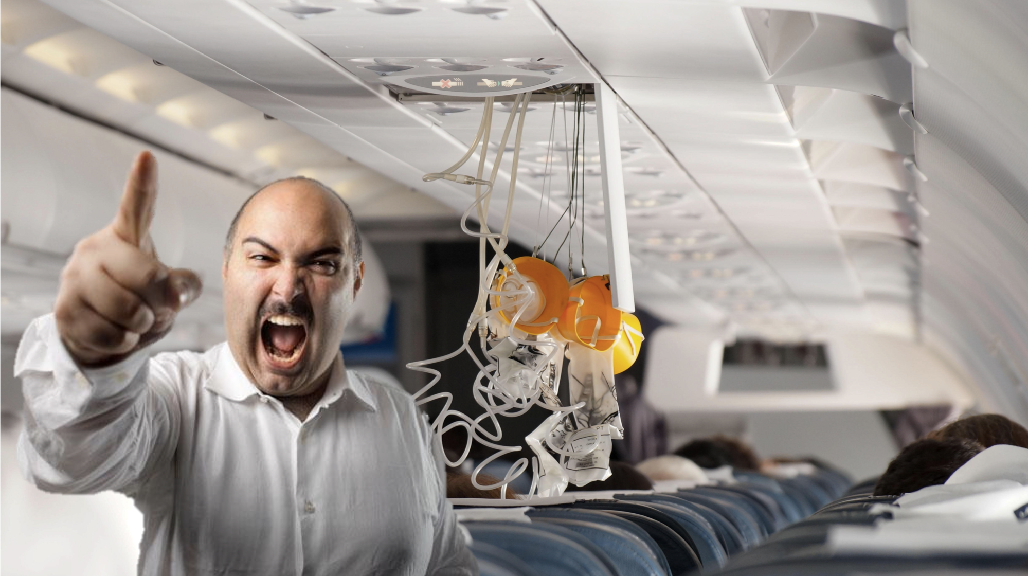Man On Plane Refuses To Wear Mask Because It Breaches His Human Rights