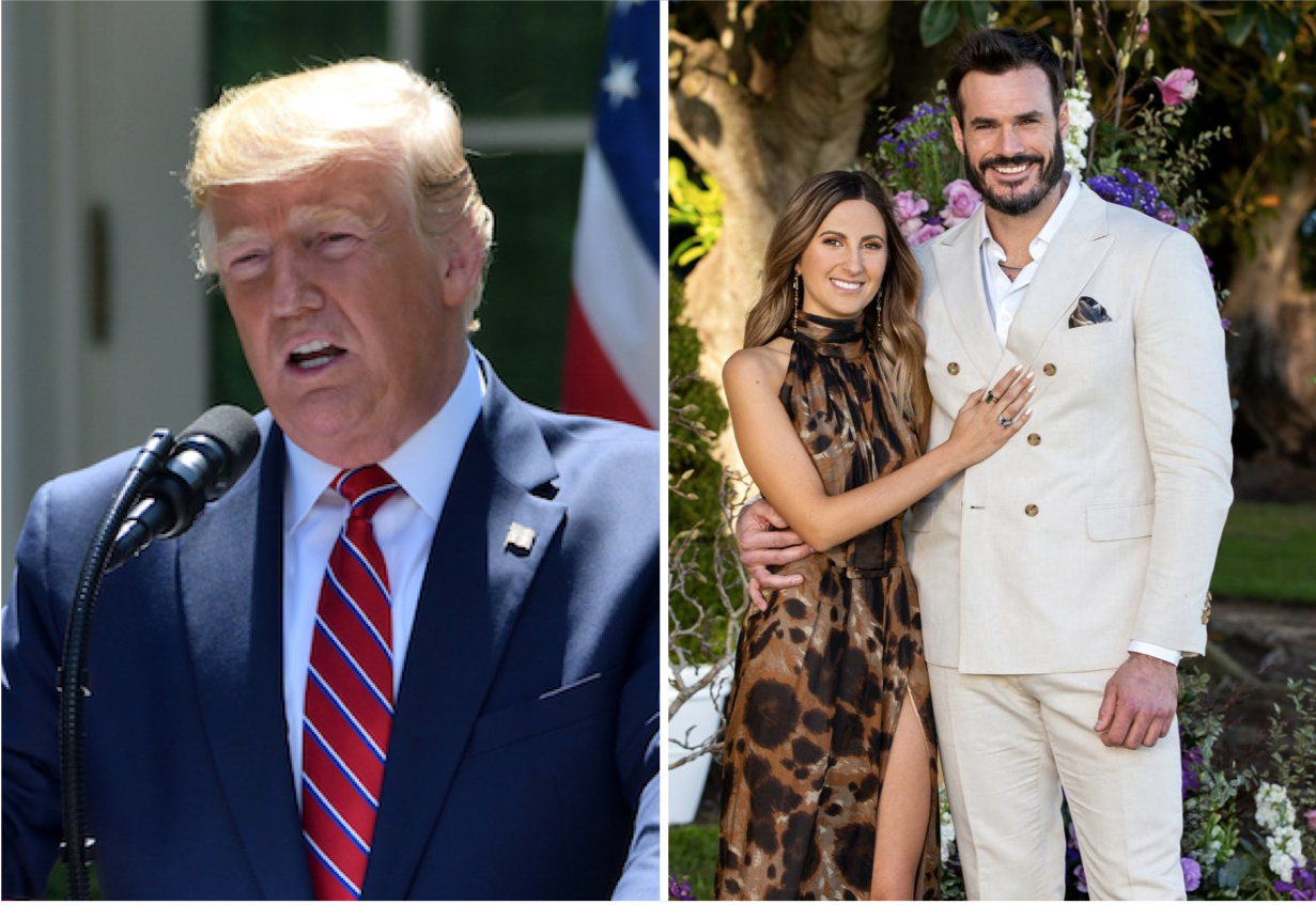 Trump Refuses To Accept Outcome Of The Bachelor Finale