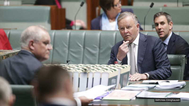 Morrison Offers Albo $100 To Stop Asking Questions About Anti Corruption Commission