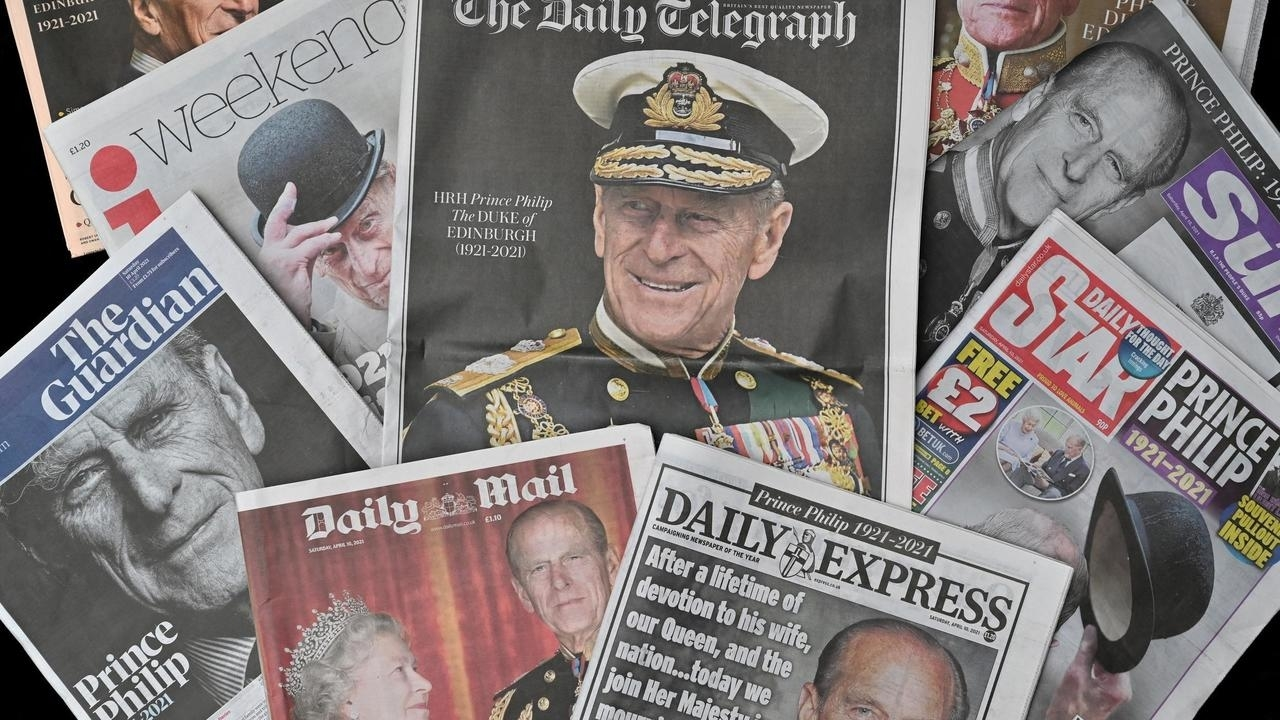 Media Mourns End Of Prince Philip Stories