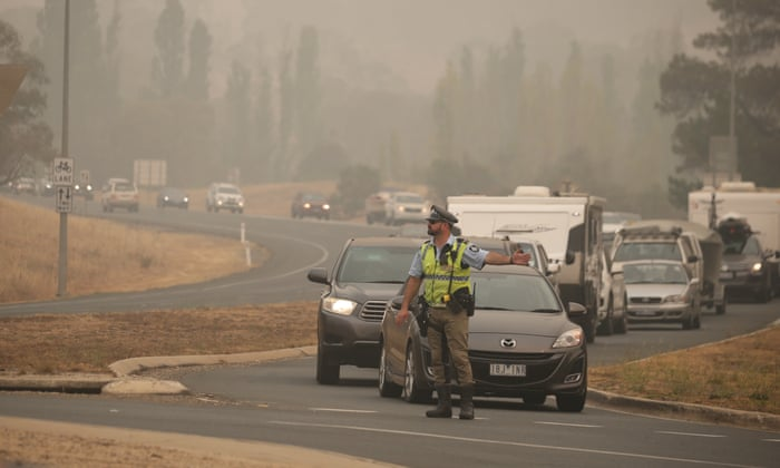 Australians Fleeing Bushfires To Be Jailed For 5 Years
