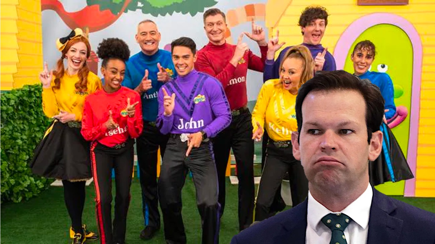 Matt Canavan First Person Over 5 To Throw Temper Tantrum About The Wiggles